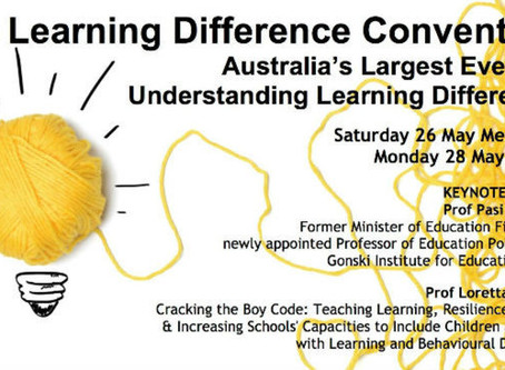2018 Learning Difference Convention