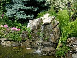 Smaller Backyard Water Feature