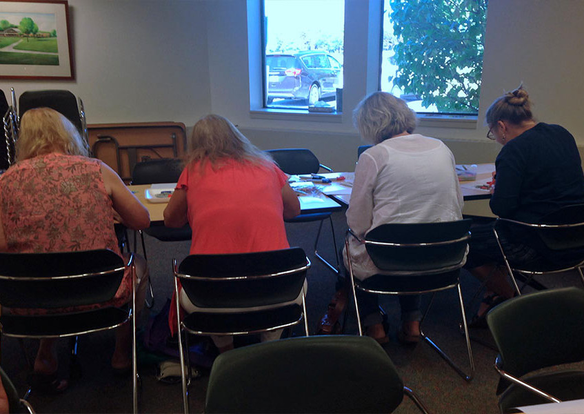 Fall Crafternoon at the Library