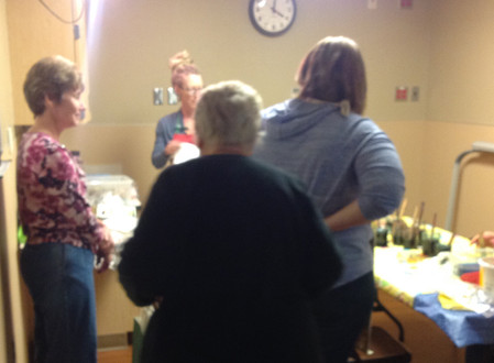 Crafternoon, Sunday, November 13th was a Hit!