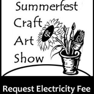 Summerfest 2020 - Request for electricity