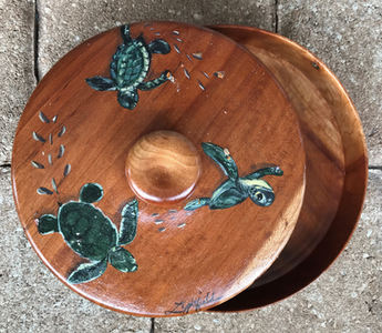 "Turtle Container, 8"", $50"