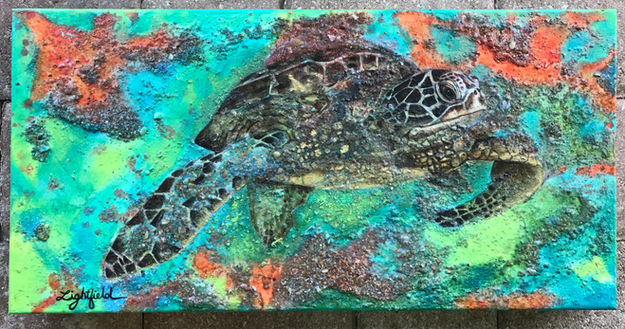 Tranquil Turtle, sold