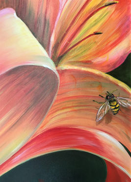 Lilly and the Bee Detail, $700
