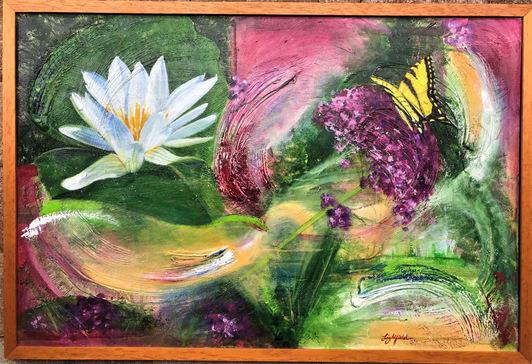 Perpetual Spring; $550