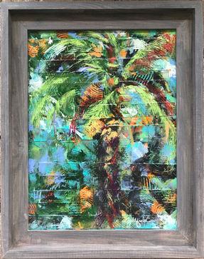 Palm Woven, $125