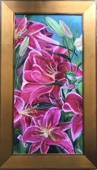 Frog and Lillies, $700