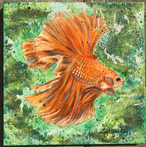 Menage-a-Trois Fish (1 of 3) sold