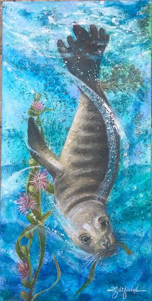 Sea Lion Plunge, $400