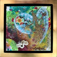 """On Cloud 9, $125, 8"""" x 8"""", 11.5"""" x 11.5"""" with frame"""