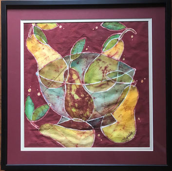 Pair of Pears and a Pear; $350