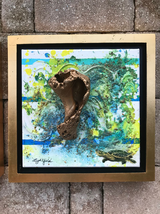 Sounds of the Sea Series (Turtle) $225 each