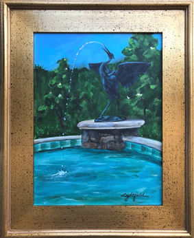 Crane Fountain, $325