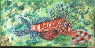 Menage-a-Trois Fish (2 of 3) sold