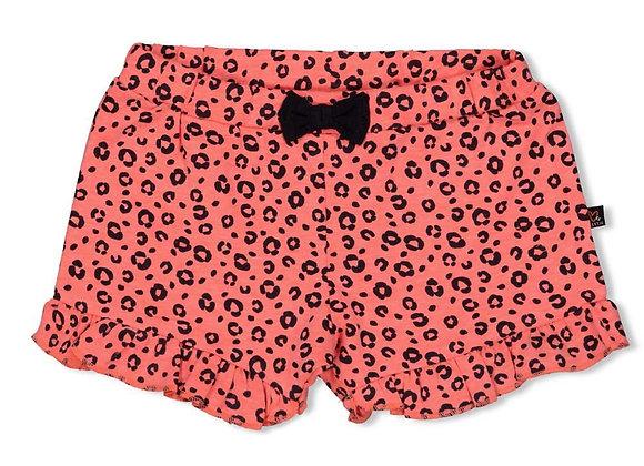 Feetje Short AOP- Leopard Love