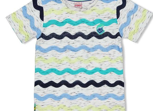 STURDY T Shirt AOP- Smile & Wave