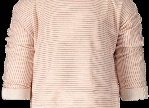 PEXI LEXI Tee long sleeve with pocket stripe