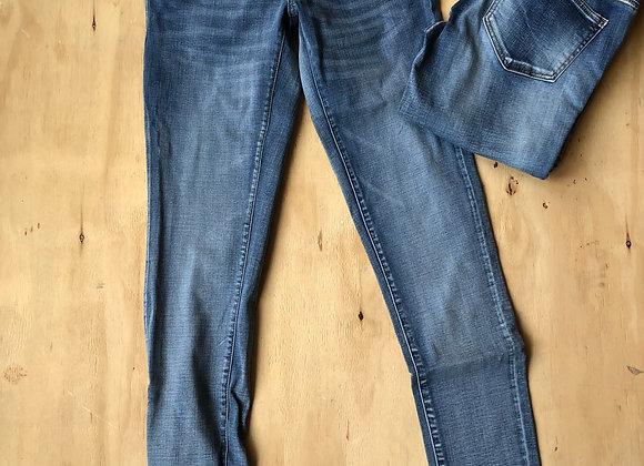 Mamalicious golden slim jeans