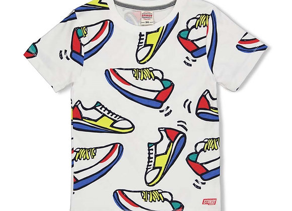 STURDY T Shirt  AOP Sneakers  Playground