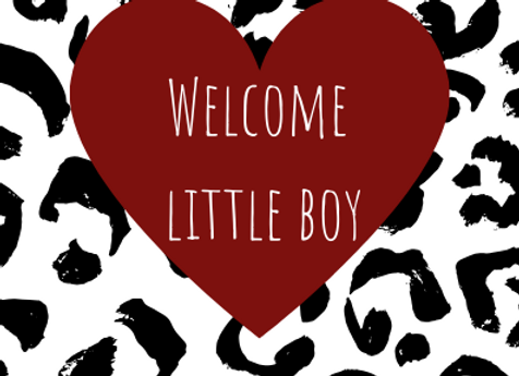 Welcome Little Boy