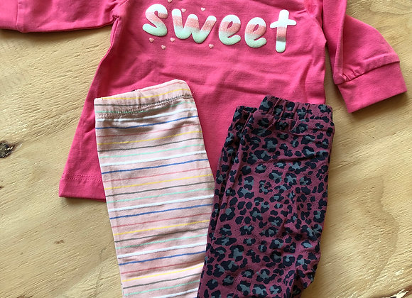 Baby girl set 37 maat 56