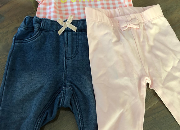 Baby girl set 41 maat 56