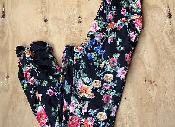 Love2Wait Pants AOP Flowers