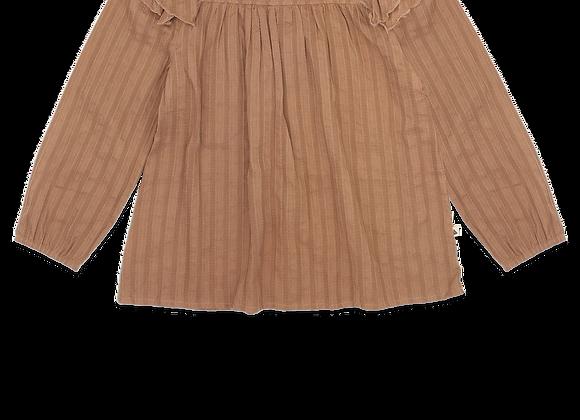 AMMEHOELA Olive blouse
