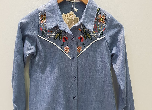 Blouse Jeanslook