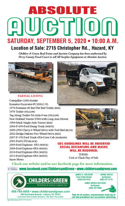 Perry Sale 9-5-20
