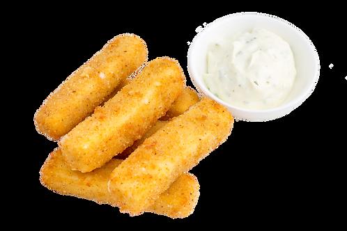 """Сырные палочки 7шт.+""""Чесночный"""" соус"""
