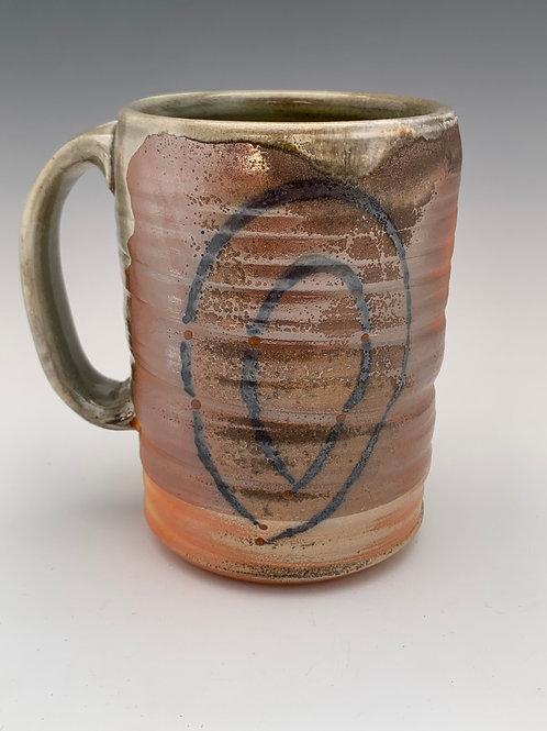 Woodfired Porcelain Stein #8- 16oz