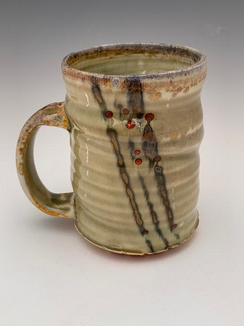 Woodfired Porcelain Mug #7- 14oz