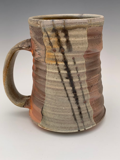 Woodfired Porcelain Stein #9- 16oz