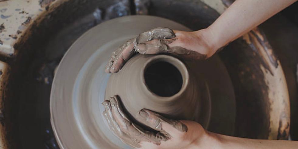 6 week session Adult Beginner/ Intermediate Pottery Class