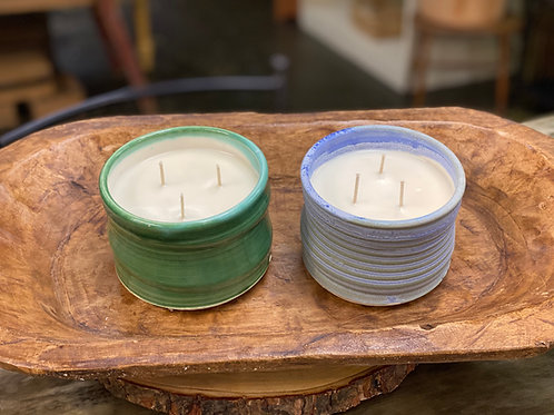 CandleWorks Pottery Candle
