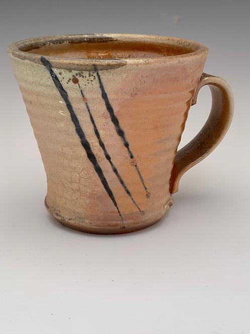 Woodfired Porcelain Mug #16- 12oz