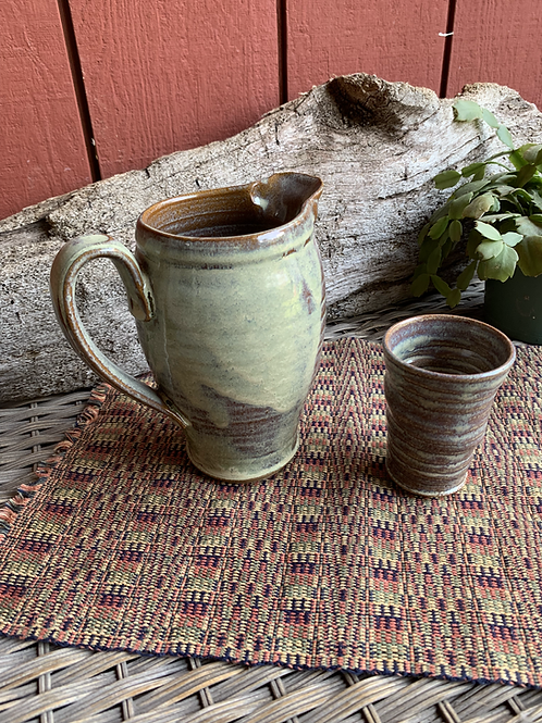 Pitcher and Glass Set-2