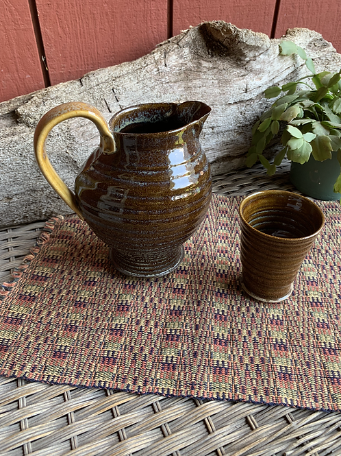 Pitcher and Glass Set-1