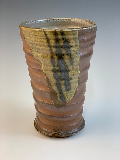 Woodfired stoneware Tumbler