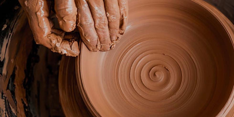 12 week session Adult Beginner/ Intermediate Pottery Class