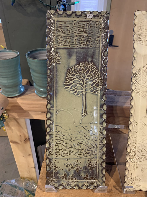 Brown Tree Tray