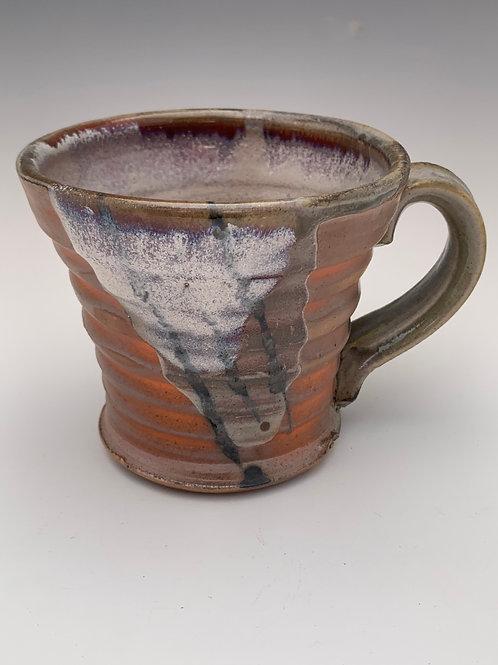 Woodfired Stoneware Mug #2- 12oz