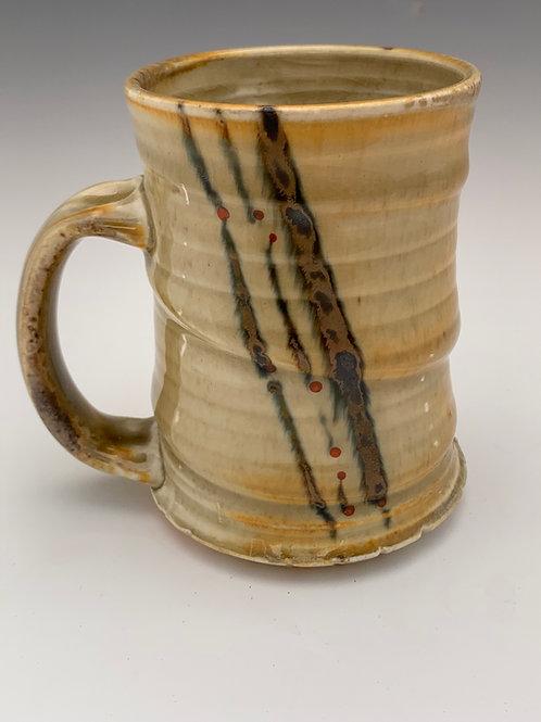 Woodfired Porcelain Stein #10- 16oz