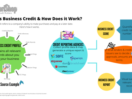 Business Credit Builder -  Tips to Avoid Credit Errors.