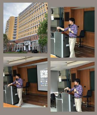 YCL shared their latest work at National Taiwan University