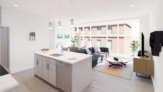 unit 501 - kitchen