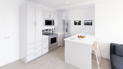 unit 605 - kitchen