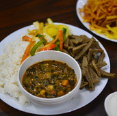 Traditional Ethiopian Dish
