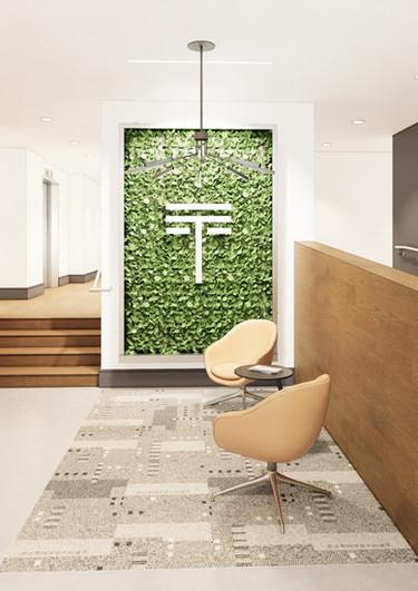 Lobby + Living Wall